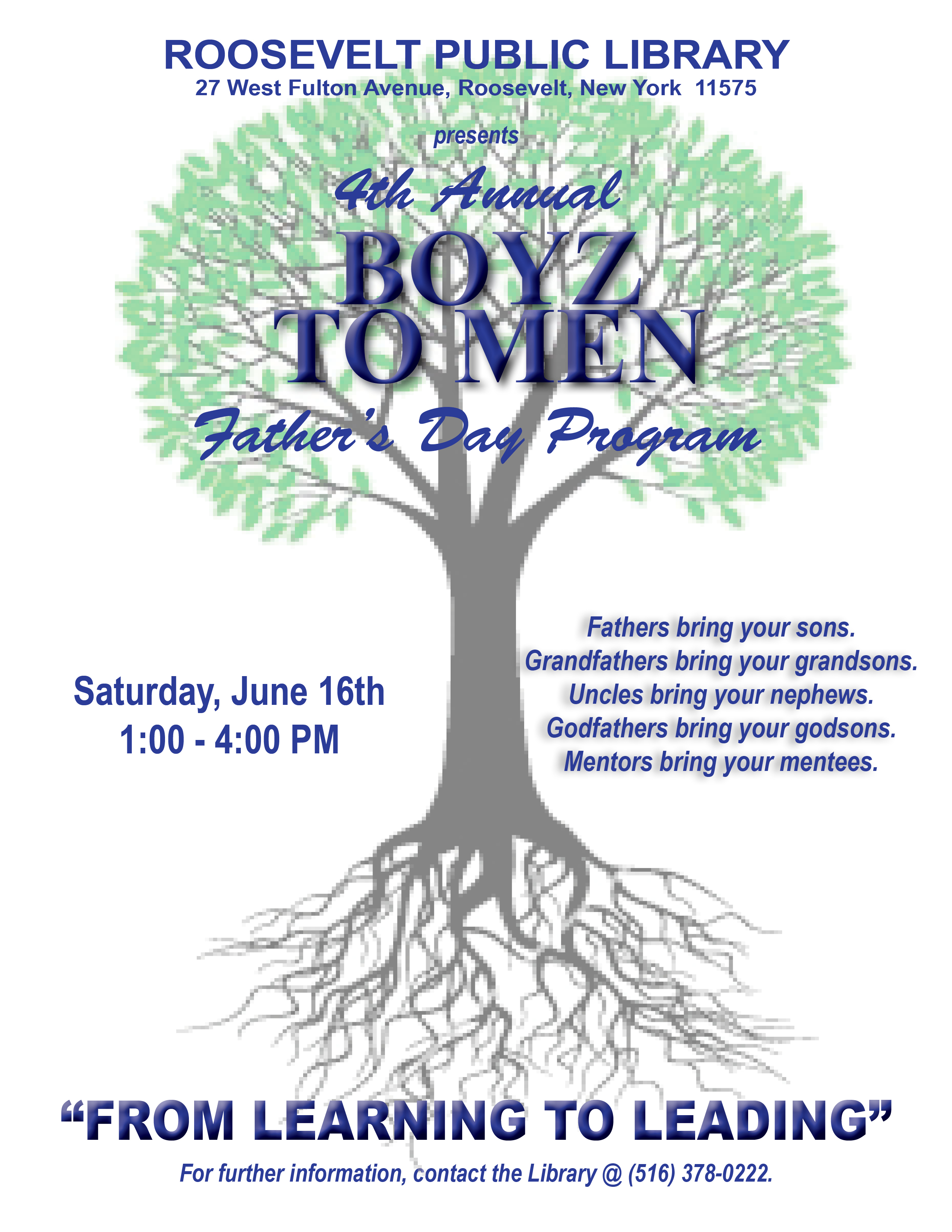 father's day program flyer 2012